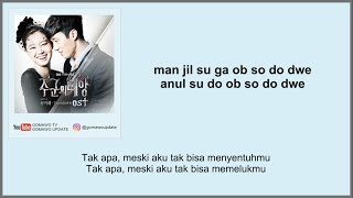 Gambar cover YOON MIRAE - TOUCH LOVE (OST. Master's Sun) Easy Lyrics + Indo Sub by GOMAWO