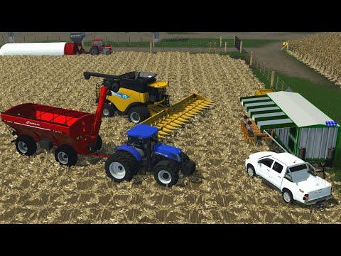 Farming Simulator 2013 Argentina - Cosecha De Maiz🌽 - TIMELAPSE #6