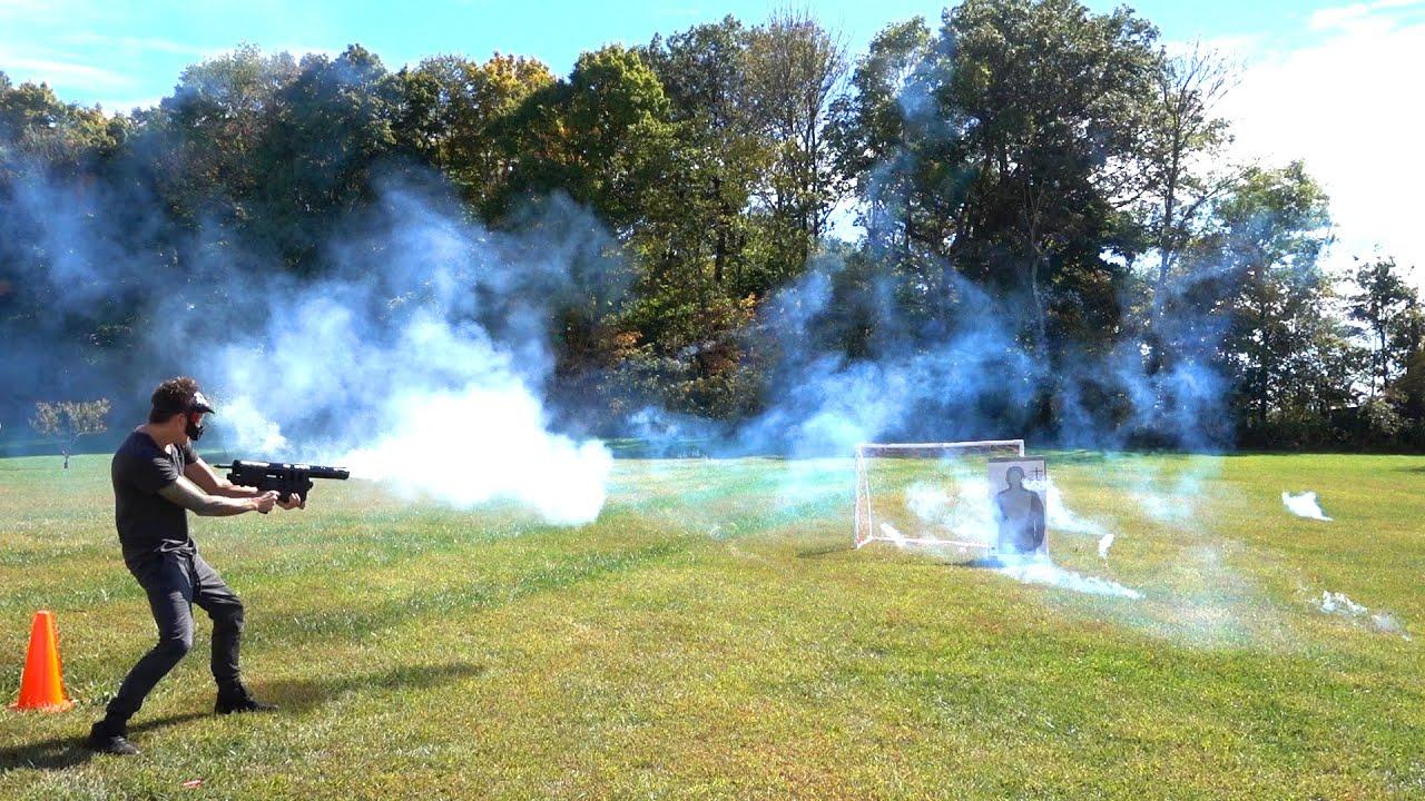 firework machine gun