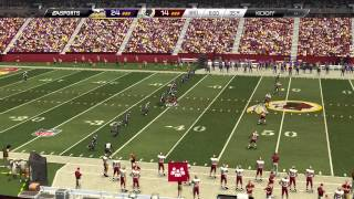 Madden 25::XBOX ONE Gameplay::Best Madden Player-Vikings Vs. Redskins-Online Gameplay XboxOne