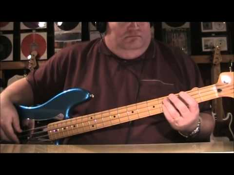 Aerosmith Crazy Bass Cover with Notes & Tab