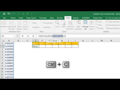 Create A List Of Random Number Without Repeats Youtube