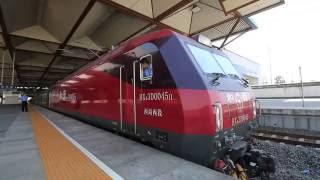 【中国】 上海発銀川行き快速 K360次列車 蘇州駅発車 China Railway K360, Suzhou Railway Station (2016.9)