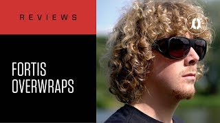 Brown or Amber Colours Available Fortis Eyewear Overwraps Sunglasses