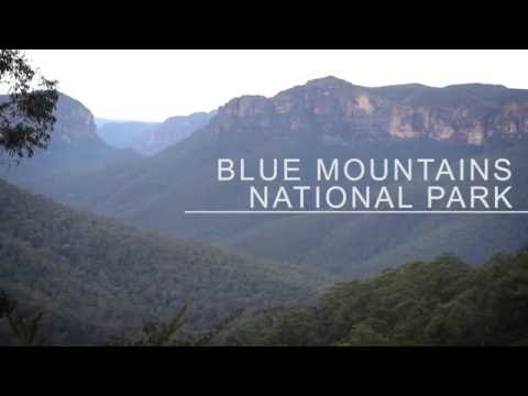 Hiking in the Blue Mountains National Park, Australia