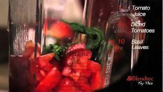 Рецепт томатного супа на блендере