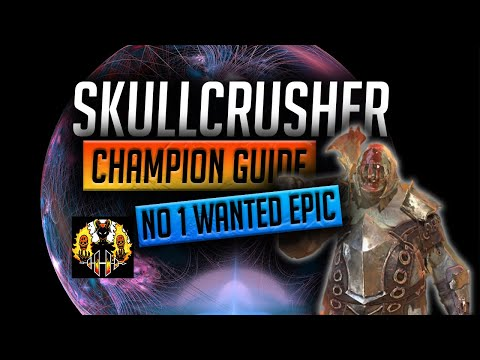 RAID: Shadow Legends   SkullCrusher Champion Guide   MOST WANTED EPIC IN THE GAME!!
