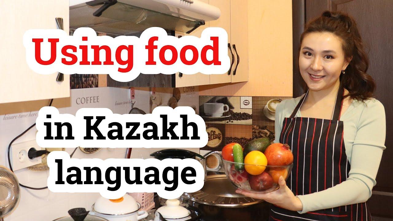Using food in Kazakh language