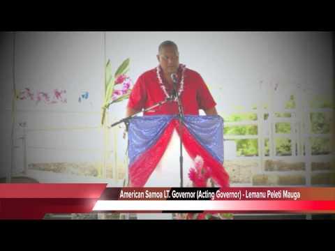 Memorial Service in American Samoa (Lt. Gov's speech)