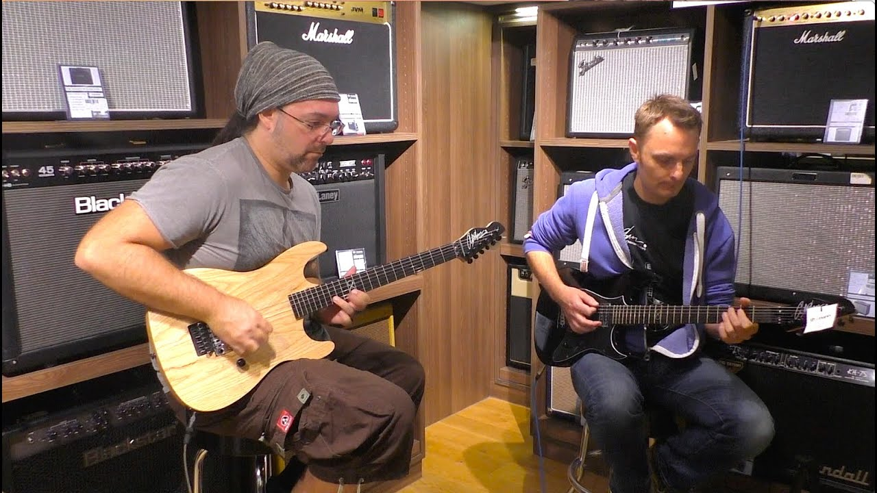 the chapman guitars expedition to thomann in germany 2015 youtube. Black Bedroom Furniture Sets. Home Design Ideas