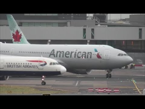45 Minutes of Plane Spotting at Dublin Airport | December 2018