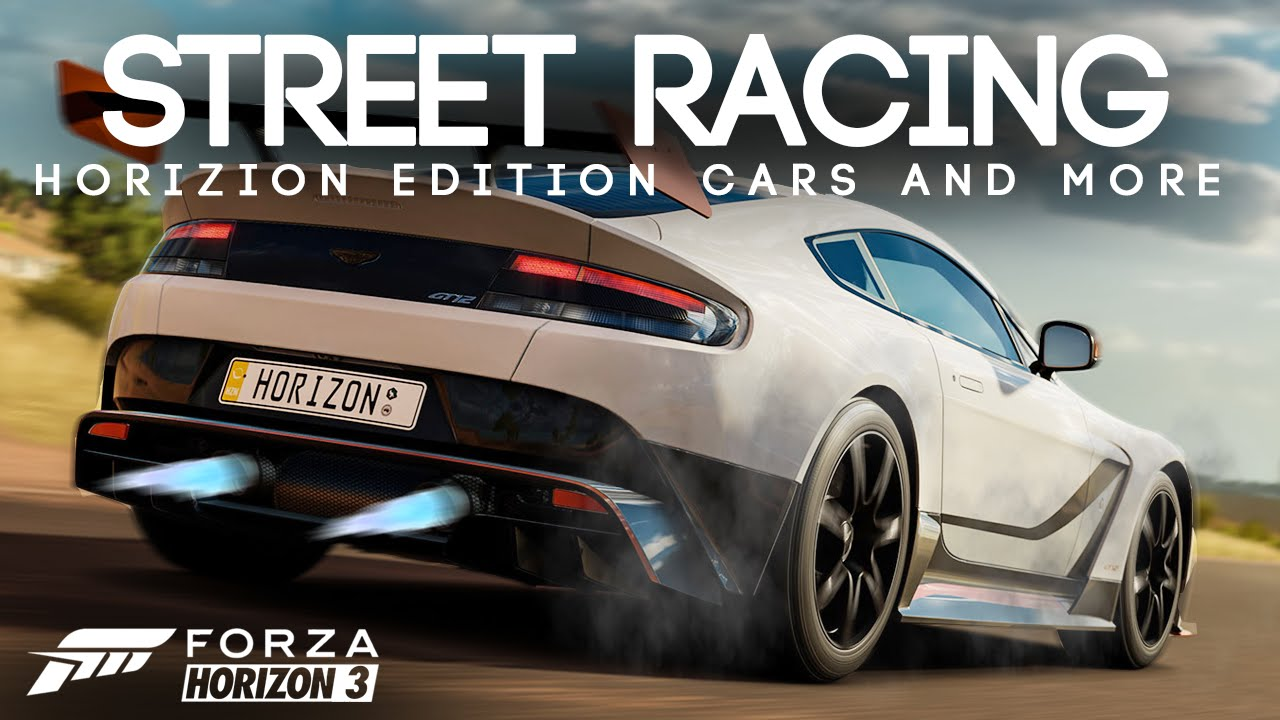 Street Racing Horizion Edition Cars And More Forza Horizon
