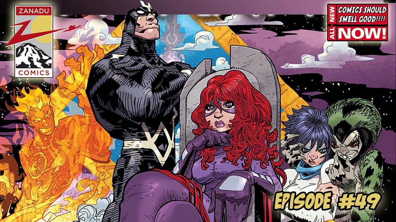 Zanadu Comics 10/21- Clean Room, Justice League, Battling Boy Aurora ...