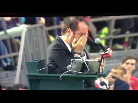 Thumbnail: Denis Shapovalov disqualified for HITTING umpire in face!!! | TENNIS DAVIS CUP