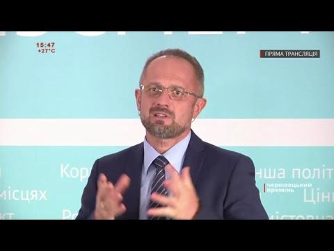 Чернівецький Промінь: «Чому я йду в Президенти України?» Прес-конференція Романа Безсмертного