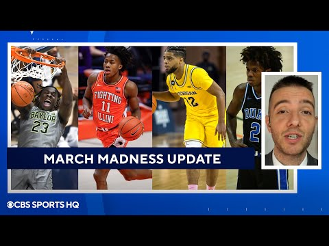 March Madness Bracket Update: Baylor, Illinois, Michigan, & Duke  CBS Sports HQ