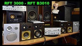 RFT ST SV 3000 - RFT B3010 comparison rubber and PU cone surroundings (EN+CZ)