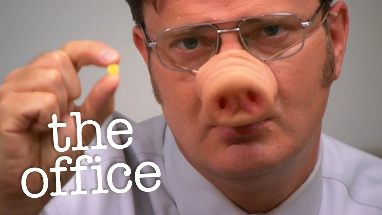 Dwight Finds A Pill  The Office Us  Youtube
