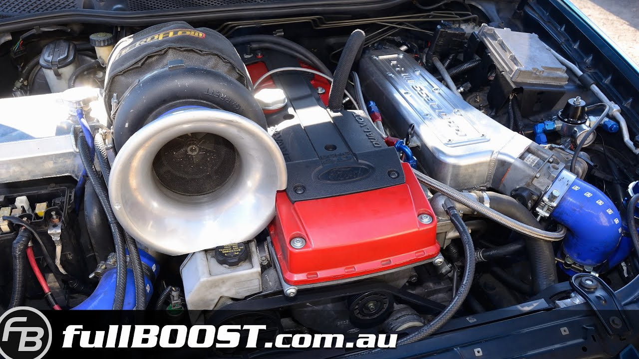 1100hp Ford XR6 turbo Powerskid  The Impound  YouTube