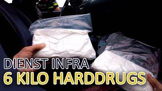 6 kilo harddrugs aangetroffen tijdens controle  | Politie dienst INFRA Aflevering 2