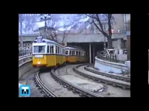 1990 TMB Budapest, tramvaje, metro, trolejbusy