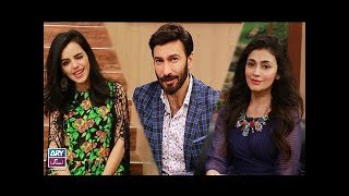 "Faysal Qureshi,Aijazz Aslam,Sharmin Ali & Erum Azam playing ""Rapid Fire"""