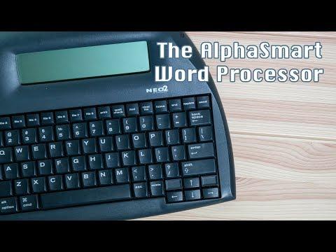 The AlphaSmart Word Processor