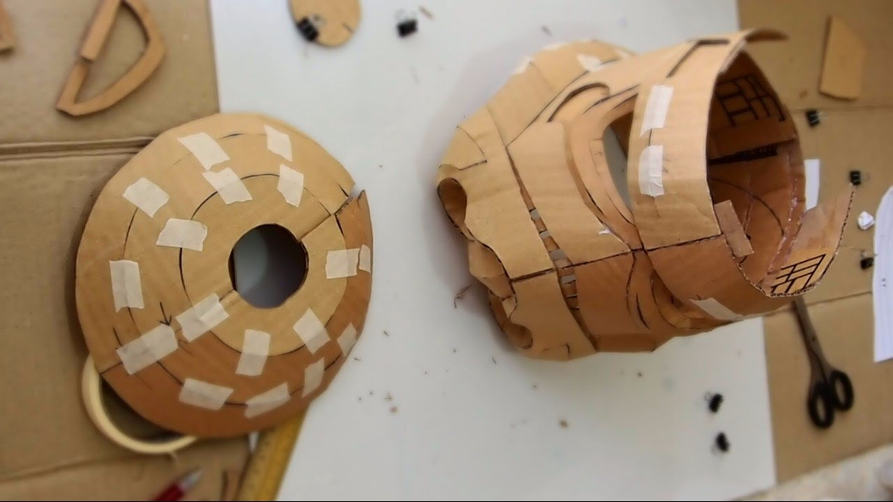 Dali-Lomo: How to make Star Wars: Stormtrooper Helmet DIY