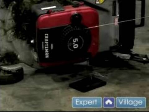 how to change oil in lawn mower youtube