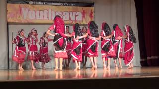 Nupur Dance Academy Junior Group ICC Youthsava 2014