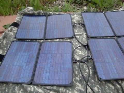 Military Solar Power Surplus and Tinkering OP-177/U BB-490