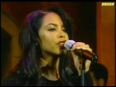 Aaliyah - More Than A Woman (Live On Regis)