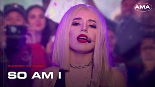 Ava Max - So Am I at Sunrise TV Show (29/04/2019)