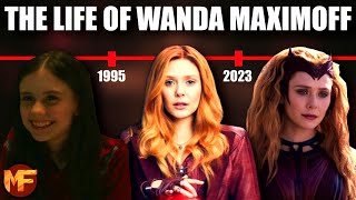 The Life of Wanda Maximoff (Scarlet Witch): Entire Timeline (MCU Explained/Recap)
