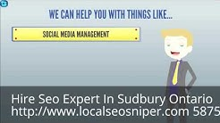 Hire Seo Professional In Sudbury Ontario