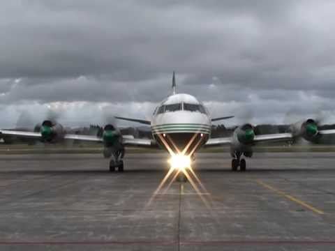 Lockheed Electra start up
