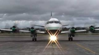 Lockheed Electra start up