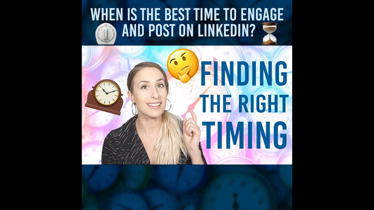 Best Timing to Post & Engage on LinkedIn