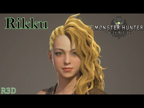 Rikku - Character Creation / Customization - Monster Hunter World [Final Fantasy X Creation]