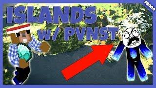 ► MineCraft MiniHry ◄ - ISLANDS   PVNST SE BRUTÁLNĚ NASRAL !!! w/PVNST - [CZ/SK]