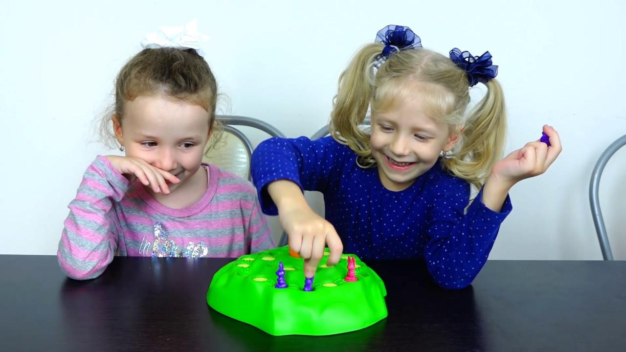 Игровой челлендж выдерни морковку дети играют кто выиграет и победит?