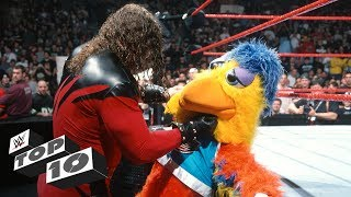 Superstars mauling innocent mascots: WWE Top 10