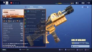 Fortnite save the world how to get nocturno v2 schematic for free.