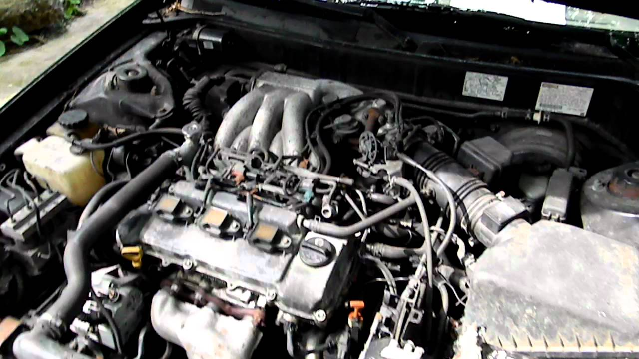 1995 Toyota Avalon XLS engine rev  YouTube