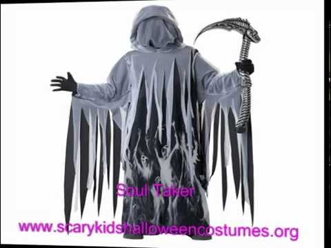 scary kids costumes