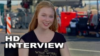 """We're The Millers: Molly Quinn """"Melissa Fitzgerald"""" On Set Interview"""