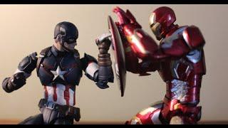 Captain America CIVIL WAR (Fan Made Stop-Motion)