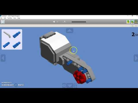 Lego Digital Designer -LEGO Mindstorms EV3 -Virtual Brick