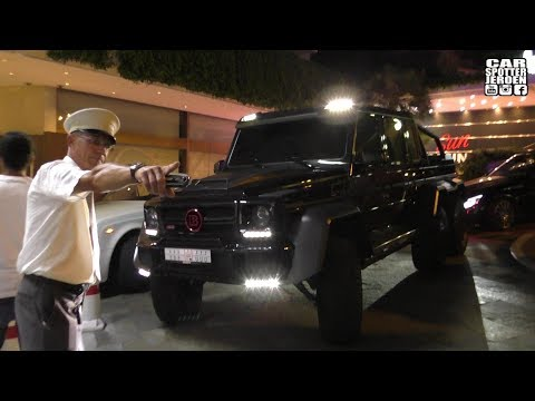 TO BIG FOR MONACO! | BRABUS Mercedes B63S 700 6x6 CANT PARK ANYWHERE!
