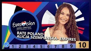 🇵🇱RATE POLAND - Alicja Szemplińska - Empires - Poland Eurovision 2020
